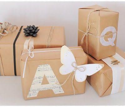 Inspiración navideña: cómo envolver tus regalos.
