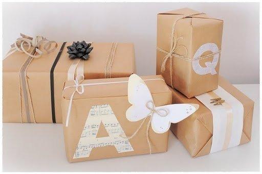 Inspiraci n navide a c mo envolver tus regalos - Paquetes originales para regalos ...