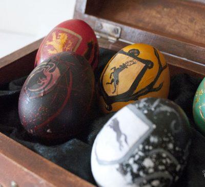 Once Upon an Easter Egg: Juego de tronos