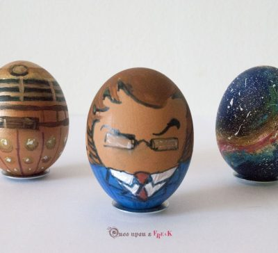 Once Upon an Ester Egg. Doctor Who edition