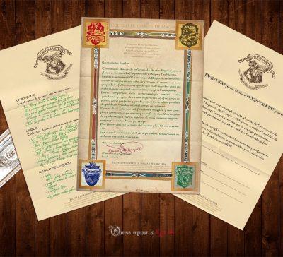 Pack DIY de acceso a Hogwarts imprimible