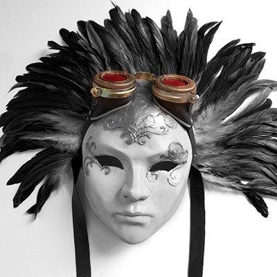 mascara veneciana dama