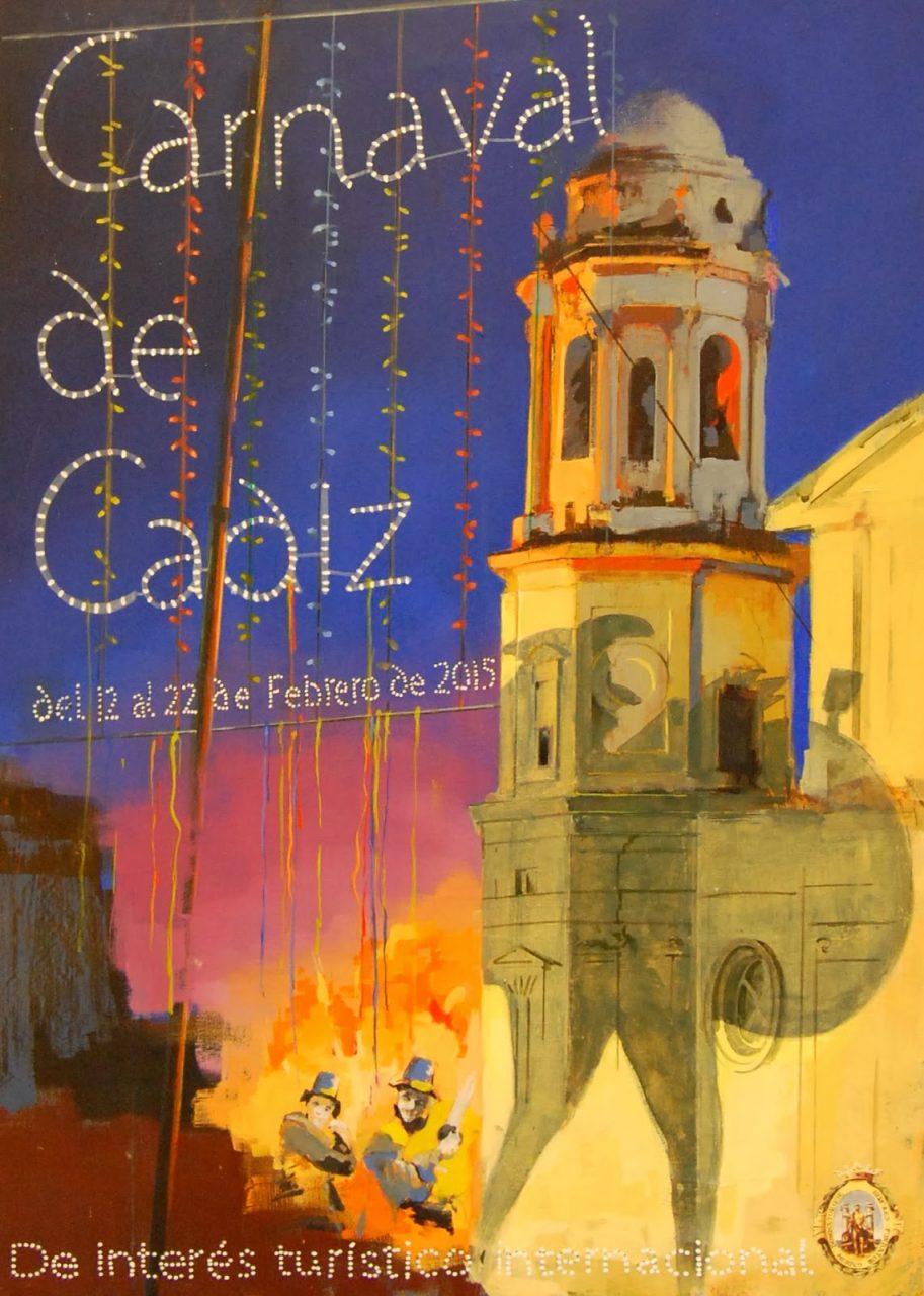 cartel carnaval de cadiz 2015