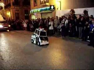 Guardia civil transformer