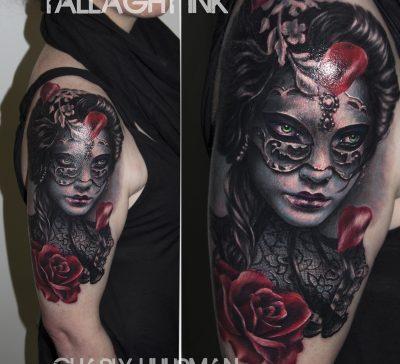 Los mejores tatuajes de máscaras del mundo mundial