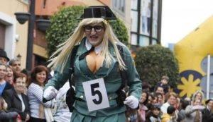 Disfraz mujer Guardia Civil