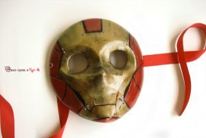máscara veneciana moretta ironman