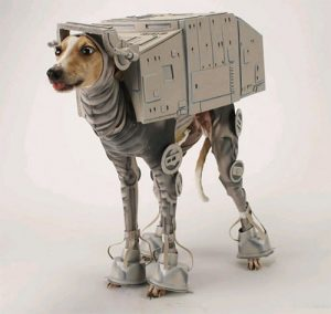 Espectacular perro AT-AT