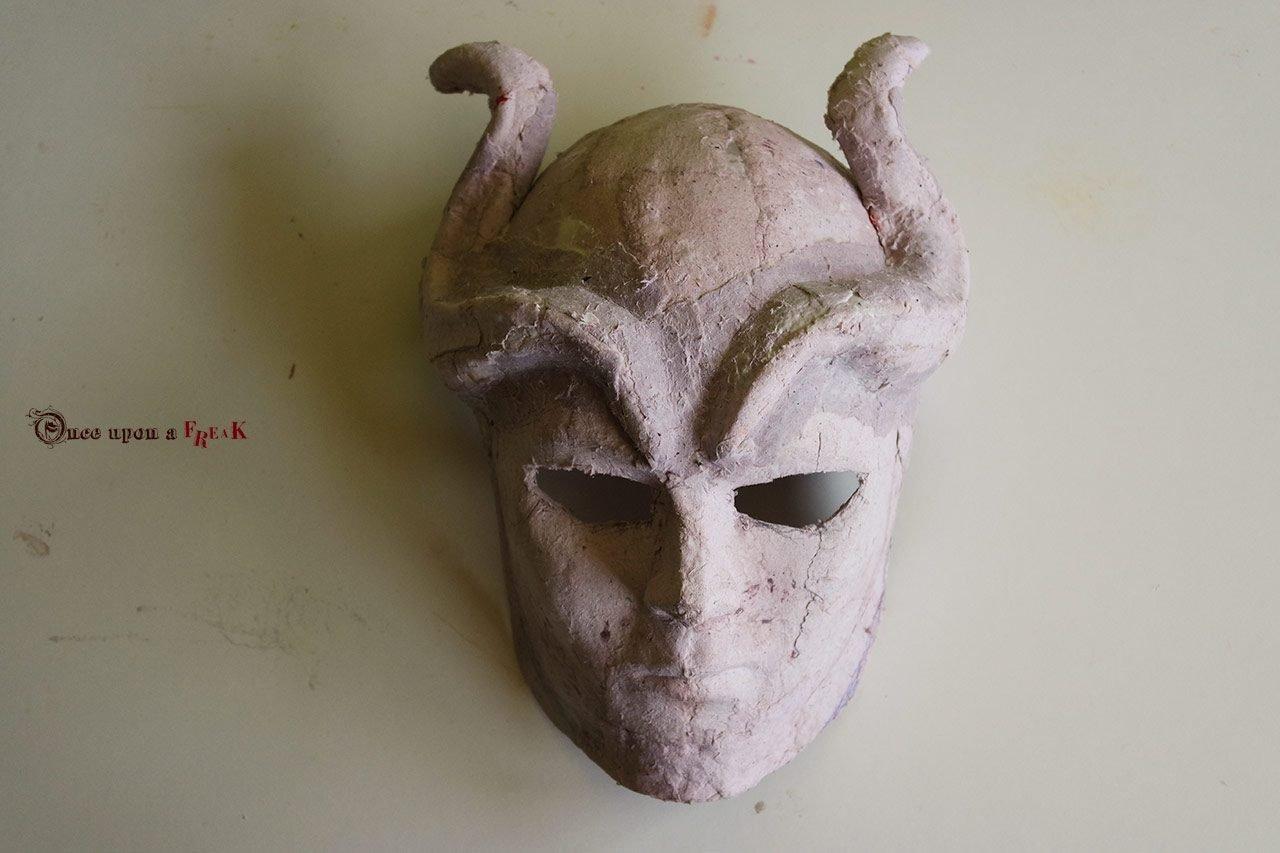 mascara hijos de la arpia papel mache