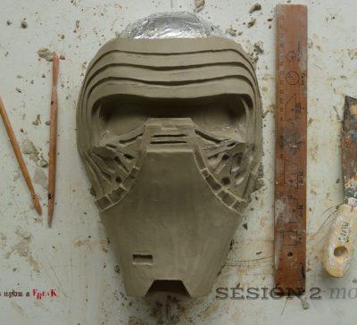 Así hemos hecho la máscara de Kylo Ren