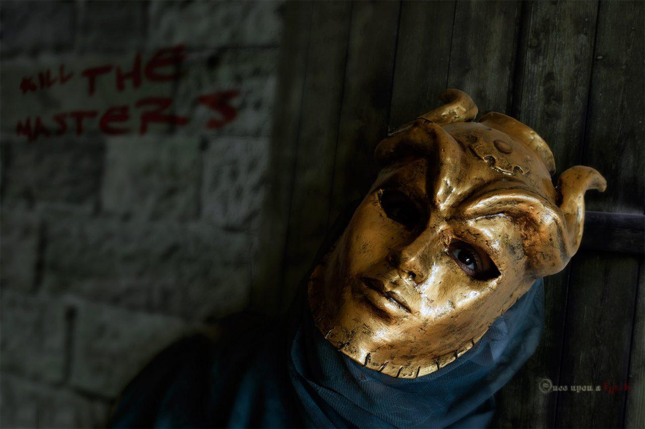 son of the harpy handmade mask
