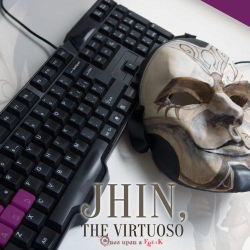 La máscara de Jhin el Virtuoso