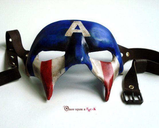 Antifaz Capitán América