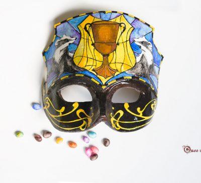 Máscara de Helga Hufflepuff