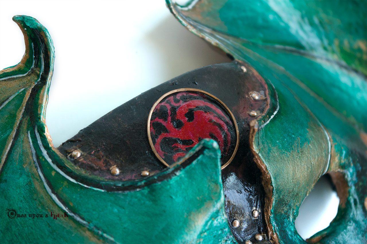 mascara dragon targaryen
