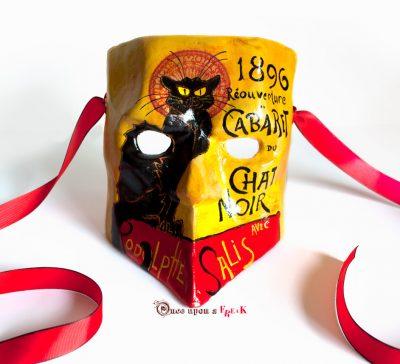 Bauta «Le chat noir»