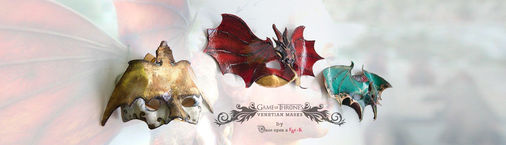 mascaras dragones daenerys juego de tronso sexta temporada