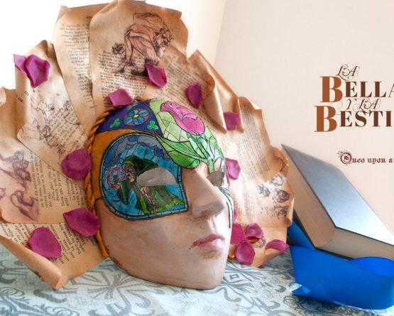 Dama veneciana La Bella y la Bestia