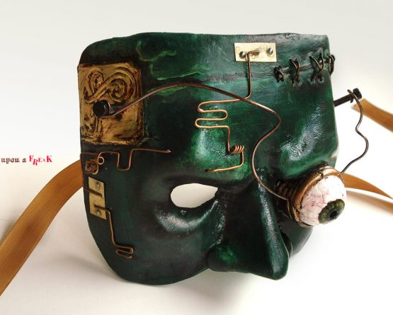 Máscara steampunk de Frankenstein