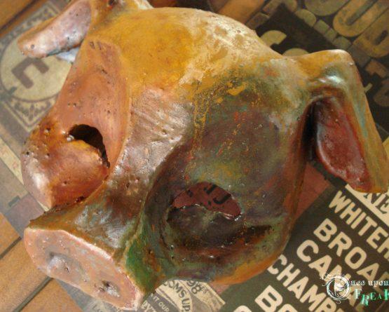 """""""Porca miseria"""" Máscara cerdo industrial"""