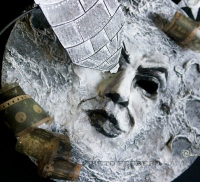 Proyecto scrap: máscara de Viaje a la luna, de los Hermanos Meliès