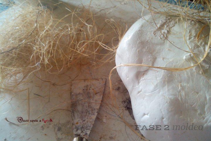 molde silicona mascara conejo
