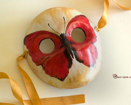 Moretta mariposa Planeadora roja
