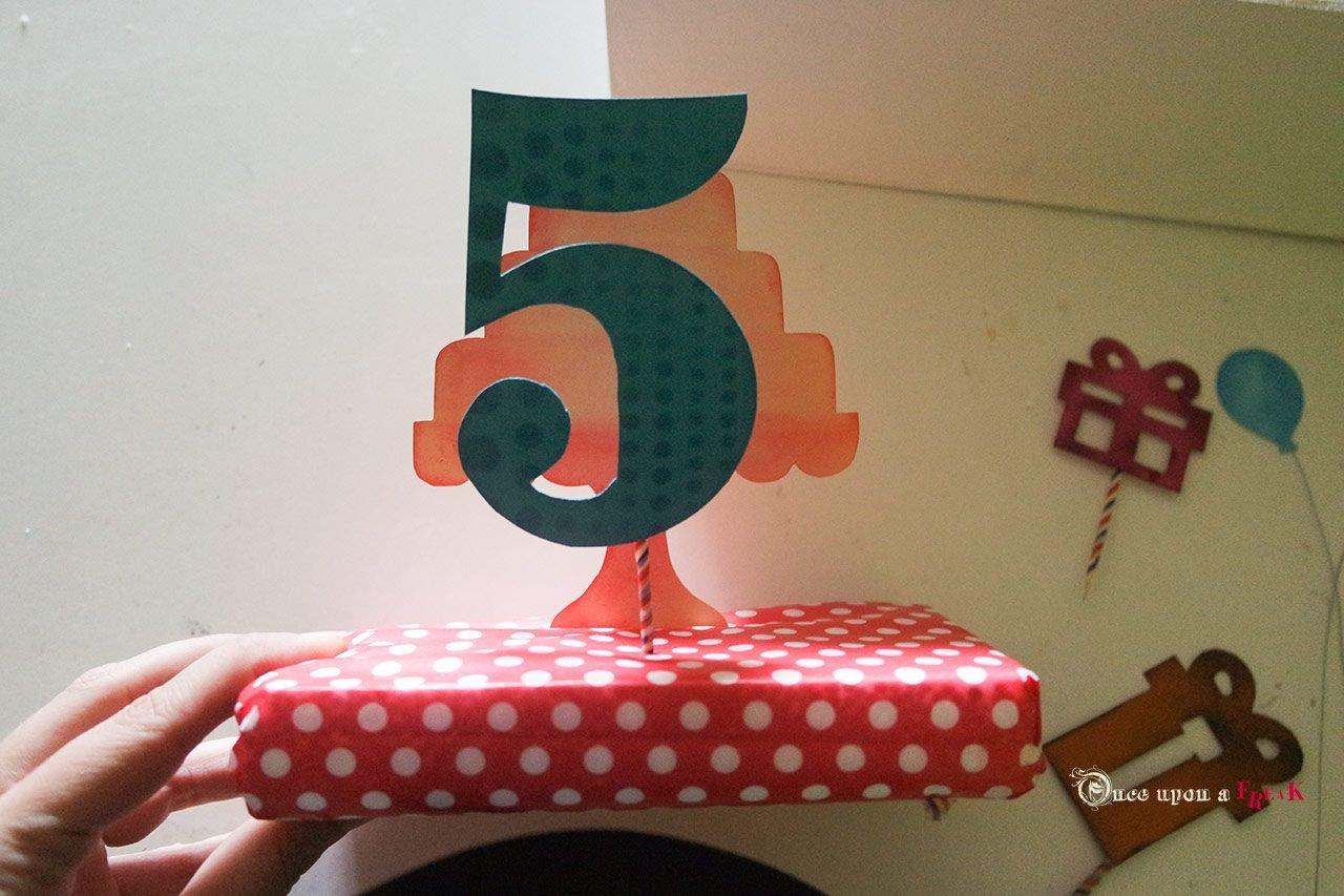 tarta cinco gigante